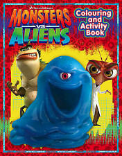 Monsters vs Aliens  - Colouring and Activity Book by HarperCollins Publishers...