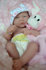 PJs ❤ EVIE ❤️ BERENGUER LA NEWBORN  + EXTRAS BABY GIRL DOLL FOR REBORN /PLAY NEW