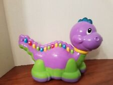 Leap Frog Lettersaurus Purple Dinosaur Learning Toy Alphabet Letters Abc's