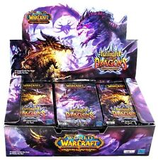 WOW Twilight of the Dragons Booster Box 24 Packs Factory Sealed ITA