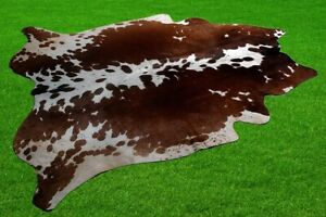 """New Cowhide Rugs Area Cow Skin Leather 25.78 sq.feet (64""""x58"""") Cow hide A-7038"""