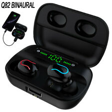 Wireless Bluetooth Headphones Q82 TWS Earphones Stereo In-ear Earbud Headset