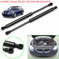 Car Front Bonnet Gas Struts Hood For BMW 5Series E60/61 525/528/530i 2004-2010X2