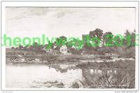 EARLY MORNING, GORING ON THAMES, OXFORDSHIRE, ENGLAND, Postcard