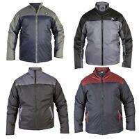Mens Big Size Long Sleeve Full Zip Lightweight Jackets Outdoor Coat King Size