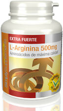 L-Arginina 500mg   Aminoácido   240 Cápsulas