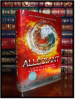 Allegiant ✍SIGNED✍ by VERONICA ROTH New Hardback 1st Edition First Printing