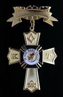 Masonic Knights Templar Past Eminent Commander Jewel (PEC-3)