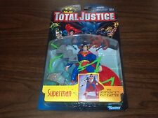 SUPERMAN TOTAL JUSTICE FIGURE #63811 MINT CONDITION 1996