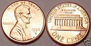 1992-D BRILLIANT UNC LINCOLN CENT~SUPER