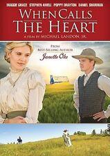 WHEN CALLS THE HEART: Novel by Janette Oke HALLMARK CHANNEL Pilot Premier Movie