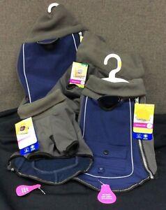 Top Paw Bonded Fleece Reflective Turtleneck Jacket~ Choice of S, M, L, XL~ NEW!
