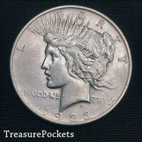 1923-D Peace Silver Dollar ~ Choice/Gem BU Uncirculated