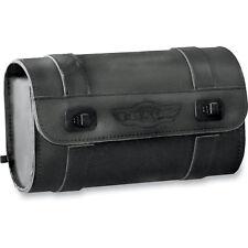 "T-Bags Black 10"" Wide Tool Bag Universal Fit Harley Motorcycle Indian Victory"