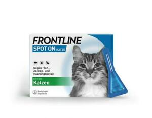 FRONTLINE Spot on K Lösung für Katzen, 3 Pipetten, PZN 00662907