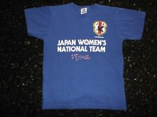 JFA Official Japan Women's Soccer T-shirt Girl 150 EUC Cotton100% Nadeshiko なでしこ