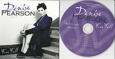 DENISE PEARSON FREE FALL RARE 6 TRACK PROMO CD [FIVE STAR]