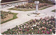 CANADA 1970 VFU col. RP pc Sundial in Shakespearian Garden STRATFORD-ON-AVON, On