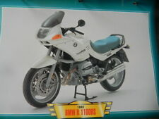 Fiche Moto BMW R 1100RS 1993  Motorcycle Card