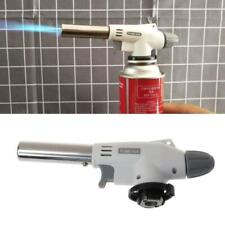Metal Portable  Flame Gun BBQ Heating Ignition Butane Welding Gas Torch Camping