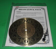 "Stained Glass Supplies - Clarity 7"" *Brass Clock Face With Hands"