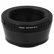 Lens Adapter for M42 to Nikon F