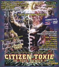 The Toxic Avenger IV - Citizen Toxie (Blu-ray/DVD, 2015, 2-Disc Set)