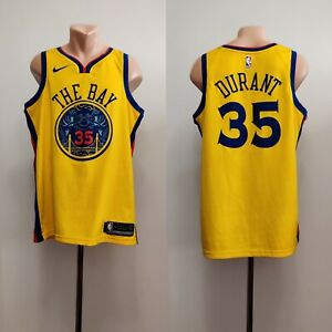 Kevin Durant #35 Golden State Warriors Swingman basketball Jersey NBA The Bay 48
