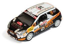 Ixo 1:43 Citroen DS3 R3 #79 Burri - Rey Monte Carlo IRC 2011 RAM459 Brand new