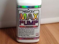 Finaflex MAX PUMP 120 Cap work out mens muscle and get cellucor no3 type pumps
