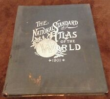 1901 The National Standard Atlas Of The World