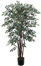 Nearly Natural 5082 Ruscus Silk Tree- 4-Feet- Green New