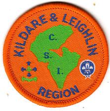 Boy Scout Badge Ext KILDARE & LEIGHLIN REGION CSI Assn IRELAND