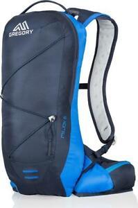 New Gregory Men's Miwok 6 Hydration Pack Daypack Blue backpack hiking bag nano