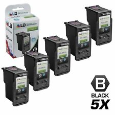 LD© Canon Reman PG240XL 5pk 5206B001RII Black HY Ink MG2120 MG2220 MG3120