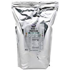 NOW Foods Whey Protein Dutch Chocolate, 10 lb Powder