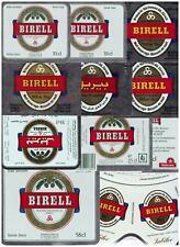 SWITZERLAND Hürlimann,Zürich BIRELL Lot of 11 beer labels C2261 040
