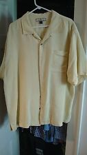 Tommy Bahama Hawaiin Shirt - XL - Silk - Embroidered