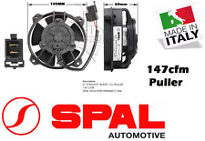 """Spal 4"""" Thermo Fan Skew Blade 12v Puller 147 CFM New Made in Italy 4 Inch"""
