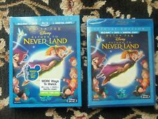 AUTHENTIC Peter Pan Return to Never Land Blu ray, dvd, digital copy NEW SEALED
