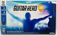 Guitar Hero Live Bundle (Nintendo Wii U, 2015) New in Box!