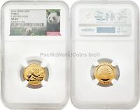 2016 China 3 gram Gold Panda NGC MS69 Early Releases SKU - #4374