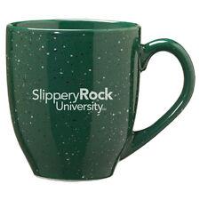 Slippery Rock University of Pennsylvania - 16-ounce Ceramic Coffee Mug - Green