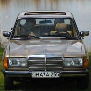 MERCEDES BENZ 200 W123 135tkm 2.Hand Erstlack Scheckheft AHK Bj.1983 gepflegt!