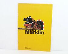 Märklin Catalogo 1973 Locomotiva Vagone Merci Carroza Binari Accessori