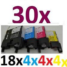 30x Tinte für MFC-J6710DW MFC-J6910DW MFC-J825DW ersetzt Brother LC1240