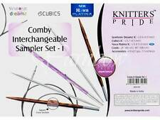 Knitter's Pride :Comby Interchangeable Circular Needle Sampler Set: Brand New