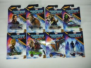 Hot Wheels Marvels Guardians Of The Galaxy Vol. 2 Set of 8