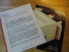 Krell KSA-200 Power Amplifier Owners Manual & Product Brochure