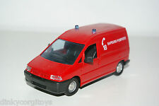SOLIDO PEUGEOT EXPERT SAPEURS POMPIERS FIRE VAN VERY NEAR MINT CONDITION